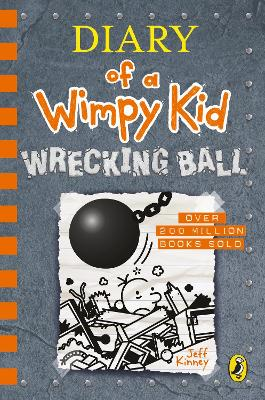 Cover for Diary of a Wimpy Kid: Wrecking Ball (Book 14) by Jeff Kinney