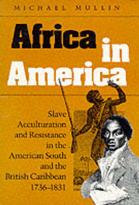 Africa in America Slave Acculturation and Resistance in the American South and the British Caribbean, 1736-1831 by Michael Mullin