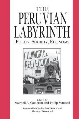 The Peruvian Labyrinth Polity, Society, Economy by Maxwell  A. Cameron