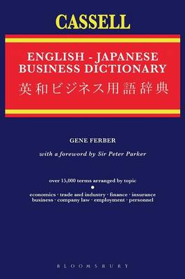 The Cassell English-Japanese Business Dictionary by Gene Ferber