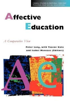 Affective Education A Comparative View by Peter Lang, etc.