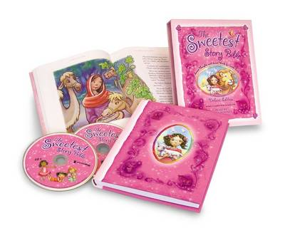 The Sweetest Story Bible Deluxe Edition Sweet Thoughts and Sweet Words for Little Girls; With CDs by Diane Stortz