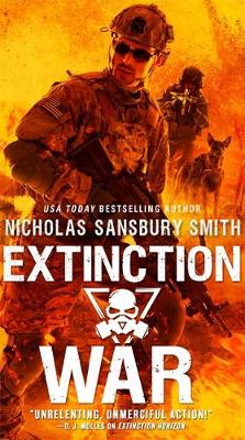 Cover for Extinction War by Nicholas Sansbury Smith