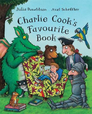 Charlie Cook's Favourite Book Big Book by Julia Donaldson
