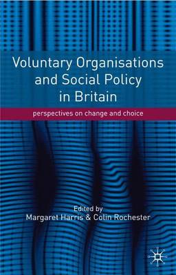 Voluntary Organisations and Social Policy in Britain Perspectives on Change and Choice by Margaret Harris, Colin Rochester