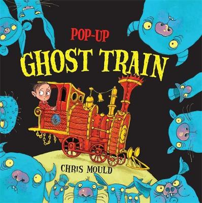Pop-up Ghost Train by Chris Mould