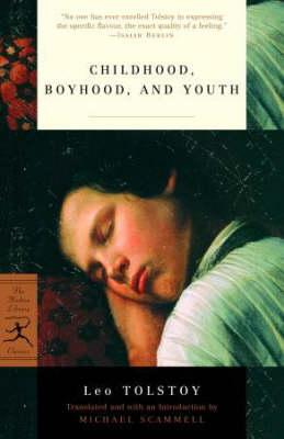 Mod Lib Childhood, Boyhood And Youth by Leo Tolstoy
