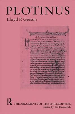 Plotinus by Lloyd P. Gerson