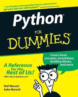 Python For Dummies by Stef Maruch, Aahz Maruch