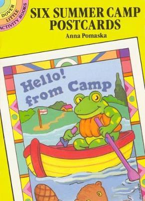 Six Summer Camp Postcards by Anna Pomaska