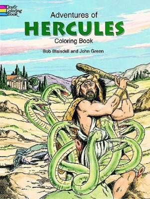 Adventures of Hercules Coloring Book by Bob Blaisdell