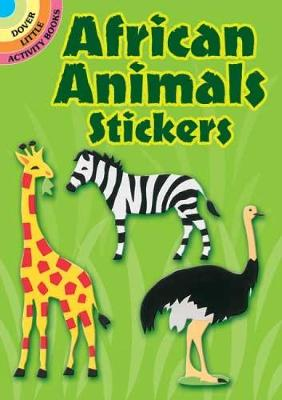 African Animals Stickers by Winky Adam
