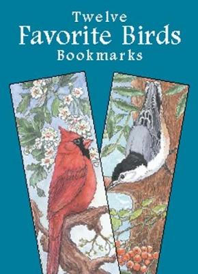 Favorite Birds Bookmarks by Annika Bernhard