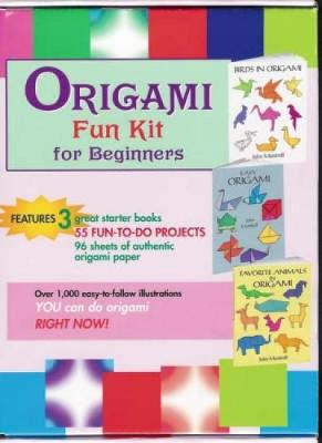 Origami Fun Kit for Beginners Birds in Origami , Easy Origami , Favorite Animals in Origami by Dover