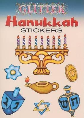 Glitter Hanukkah Stickers by Freddie Levin