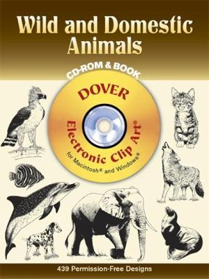 Wild and Domestic Animals CD-Rom by Dover