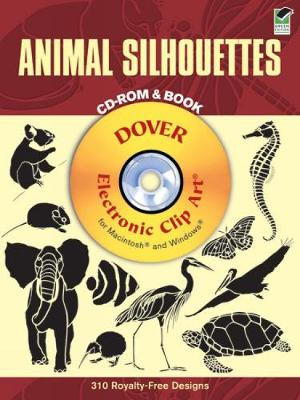 Animal Silhouettes CD-Rom and Book by Ellen Sandbeck