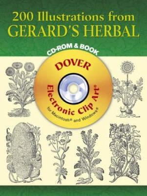 200 Illustrations from Gerard's Herbal by John Gerard