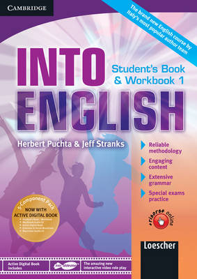 Into English Level 1 Student's Book and Workbook with Active Digital Book w/ Grammar and Vocab Maximiser w/ AudCD Ital Ed by Herbert Puchta, Jeff Stranks