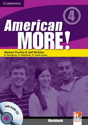 American More! Level 4 Workbook with Audio CD by Herbert Puchta, Jeff Stranks, Gunter Gerngross, Christian Holzmann