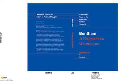 Bentham: A Fragment on Government by Jeremy Bentham