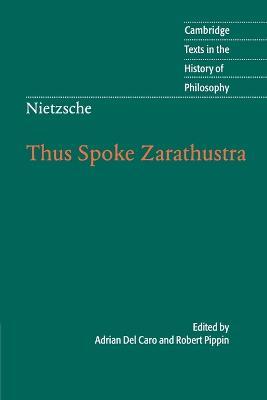 Nietzsche: Thus Spoke Zarathustra by Robert Pippin
