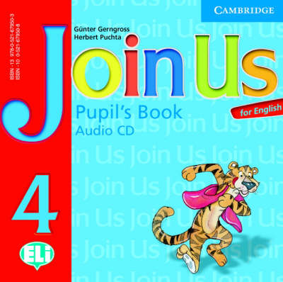 Join Us for English 4 Pupil's Book Audio CD by Gunter Gerngross, Herbert Puchta