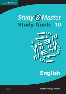 Study and Master English Study Guide Grade 10 by Jeanne Maclay-Mayers