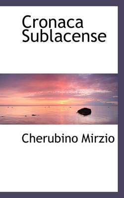Cronaca Sublacense by Cherubino Mirzio