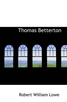 Thomas Betterton by Robert William Lowe