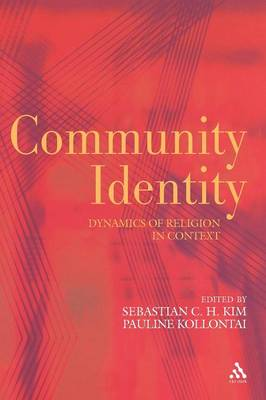 Community Identity Perspectives from Theology and Religious Studies by Sebastian Kim