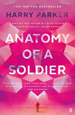 Cover for Anatomy of a Soldier by Harry Parker