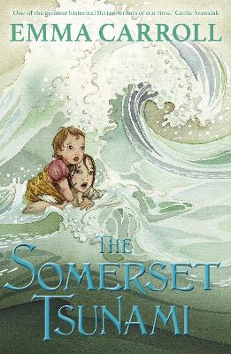 Cover for The Somerset Tsunami by Emma Carroll