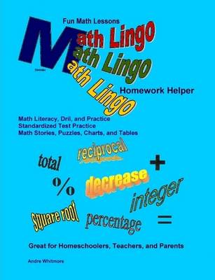 Math Lingo Homework Helper by Andre Whitmore