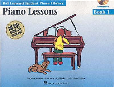 Hal Leonard Student Piano Library Piano Lessons Book 1 (Book/CD) by Hal Leonard Student Piano Library