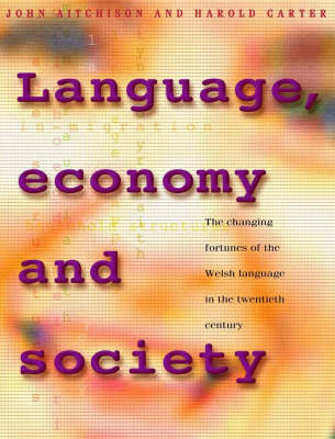 Language, Economy and Society The Changing Fortunes of the Welsh Language in the Twentieth Century by Harold Carter, John (Institute of Earth Studies, University of Wales, Aberystwyth) Aitchison
