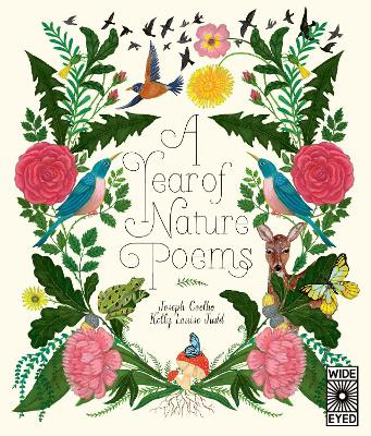 Cover for A Year of Nature Poems by Joseph Coelho