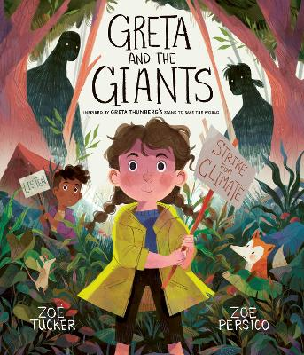 Book Cover for Greta and the Giants by Zoe Tucker