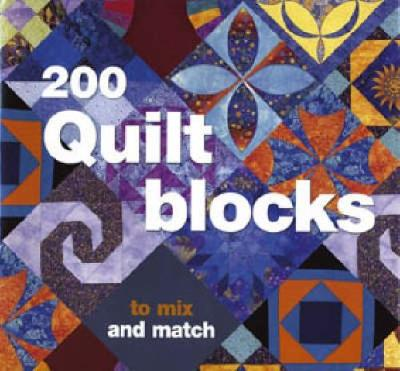 200 Quilt Blocks To Mix and Match by Davina Thomas
