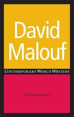 David Malouf by Don Randall