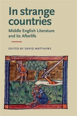 In Strange Countries: Middle English Literature and its Afterlife Essays in Memory of J. J. Anderson by David Matthews