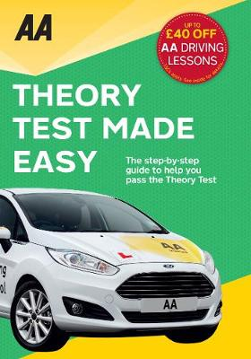 Theory Test Made Easy AA Driving Test by AA Publishing
