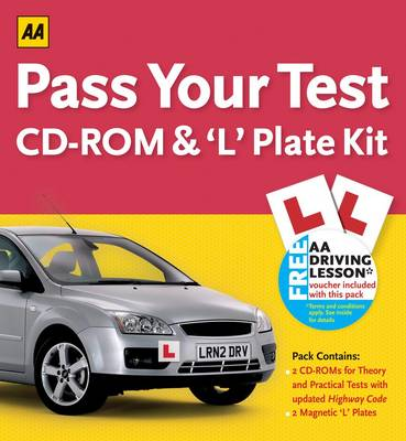 Pass Your Test CD-ROM and 'L' Plate Kit by