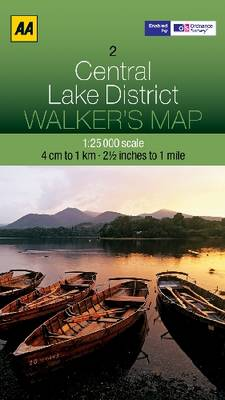 Central Lake District by AA Publishing