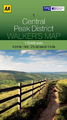 Central Peak District by AA Publishing