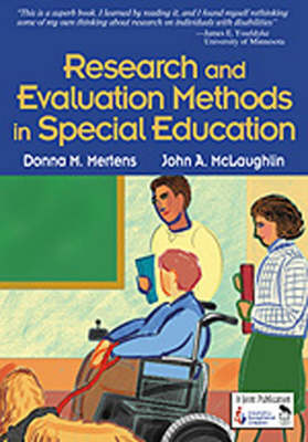 Research and Evaluation Methods in Special Education by Donna M. Mertens
