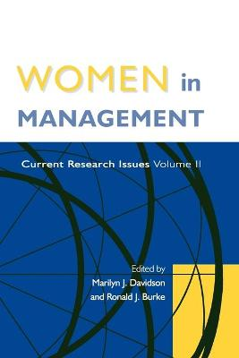 Women in Management Current Research Issues Volume II by Marilyn J. Davidson