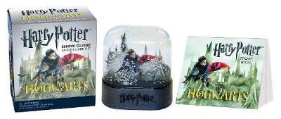 Harry Potter Hogwarts Castle Snow Globe and Sticker Kit by Running Press