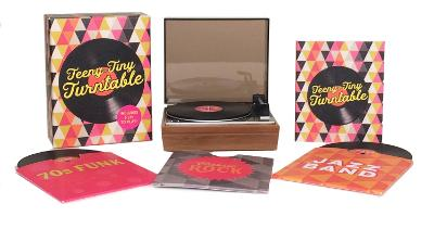 Teeny-Tiny Turntable Includes 3 Mini-LPs to Play! by Running Press