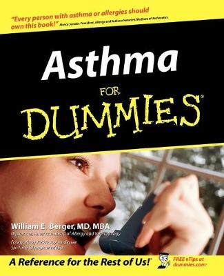 Asthma for Dummies by William E. Berger, Jackie Joyner-Kersee